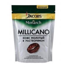Кофе  Якобс  Монарх Millicano /с доб.мол./ - растворимый 75г (м/уп)